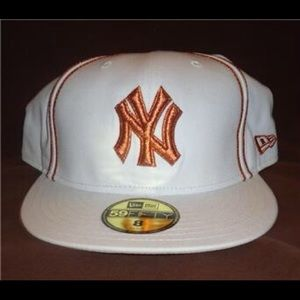 New Era New York Yankees MLB Tallic 59 fifty Cap